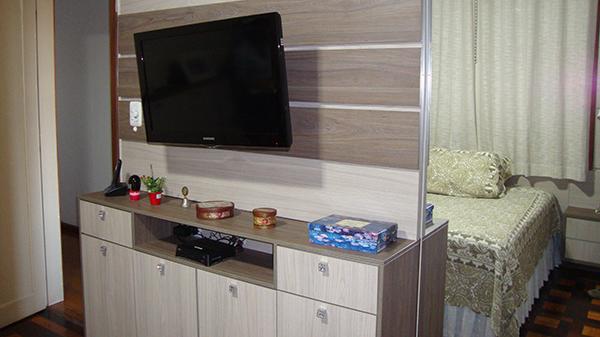 Painel para TV em Dormitório