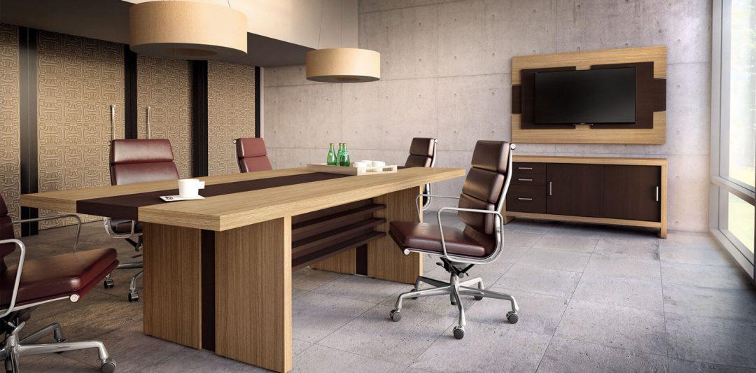 Mesa de reuniões Executiva Carvalho