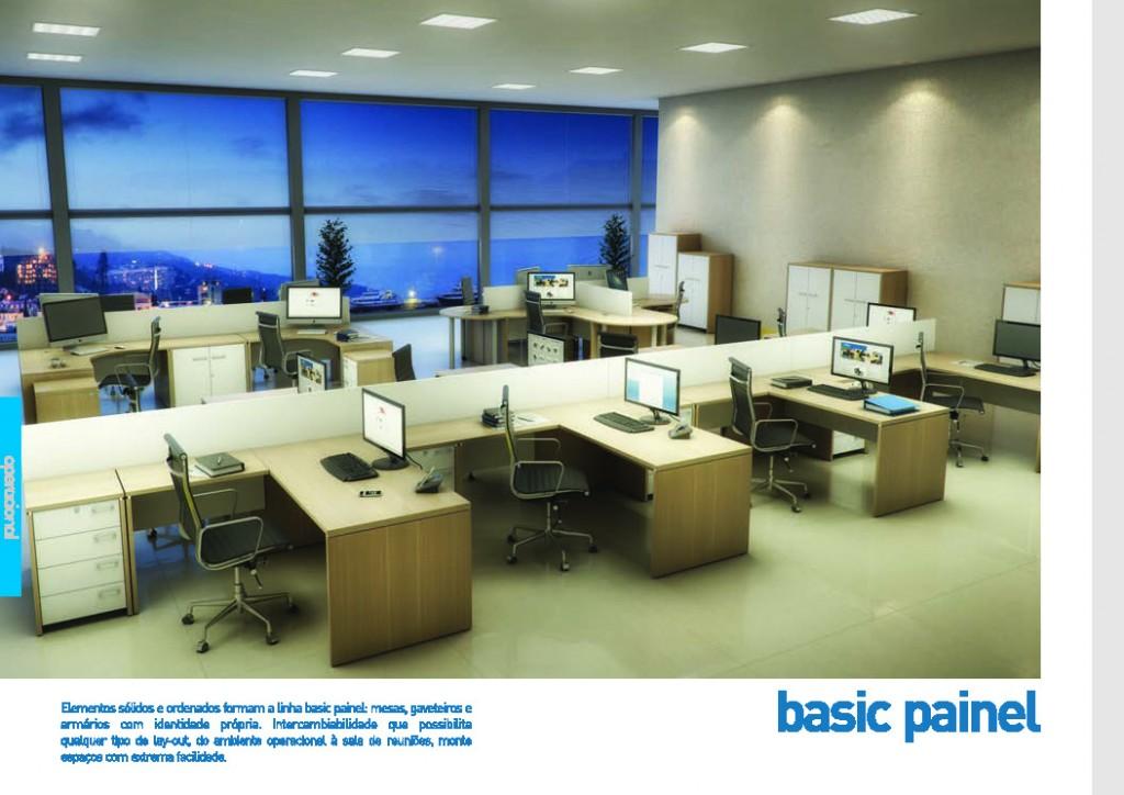 Móveis corporativos linha de produção, estações de trabalho